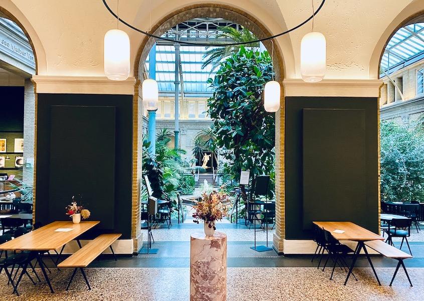 Museer og cafeer